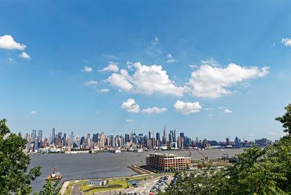 ニューヨーク街並み ニュージャージーより アメリカ合衆国