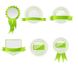 Best choice labels set vector illustration.