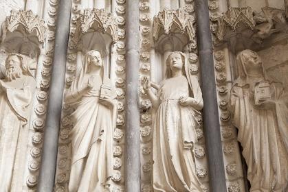 トレド大聖堂の彫刻