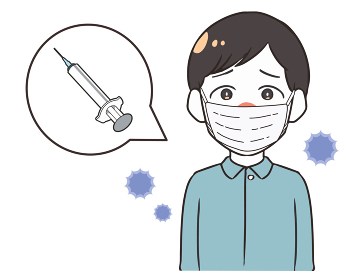 ワクチンを接種 男性