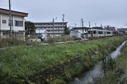 米沢行き始発列車