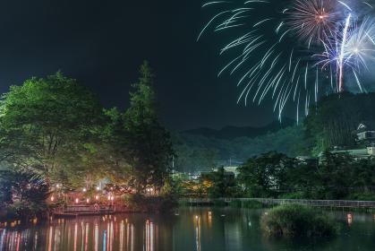 山梨県・上野原市 月見ヶ池弁財天祭り 2017