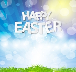 Happy Easter Spring Background Vector Illustration EPS10. Happy Easter Spring Background Vector Illustration
