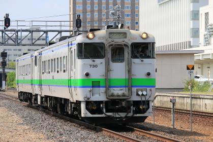 石北本線北見駅キハ40形気動車