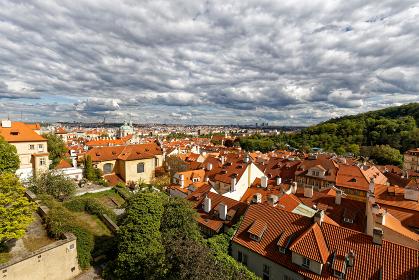 プラハの街並み プラハ城付近
