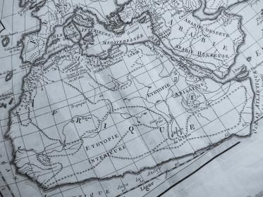 古地図 アフリカ