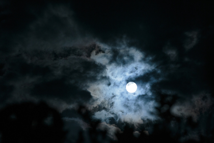 沖縄県波照間島2018年3月1日の満月