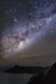 オーストラリア・ハミルトン島の天の川