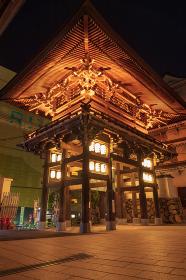 八坂神社東楼門の夜景
