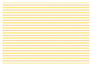 クレヨン ボーダー スウォッチ パターン テクスチャ12【オレンジ/黄】