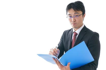 オフィスで働くビジネスマン