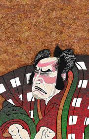 浮世絵 歌舞伎役者 その4 油絵バージョン