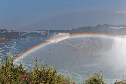 ナイアガラの滝 アメリカ滝とカナダ滝