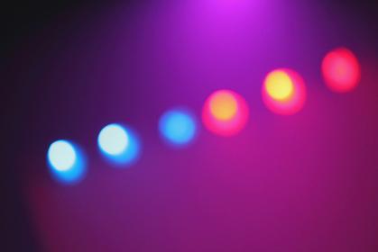 カラフルな舞台照明