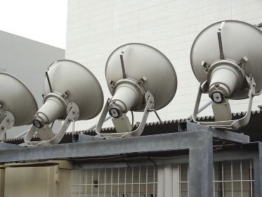 倉庫外部の照明器具