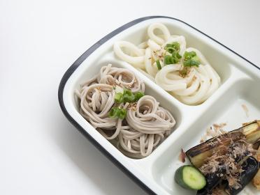 シニア・痴呆症・お年寄りのための夏のワンプレート介護食【そうめん・素麺・うどん】