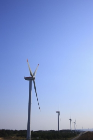 米子市北栄町の風車