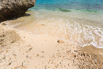 日本の国立公園・沖縄県石垣島の海岸