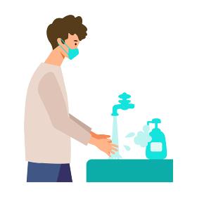 【新しい旅のエチケット】こまめな手洗い