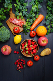 野菜と果物いろいろ