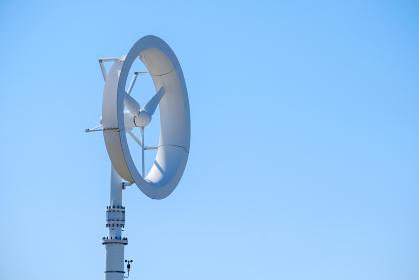 風力発電機 羽 エコロジー 青空