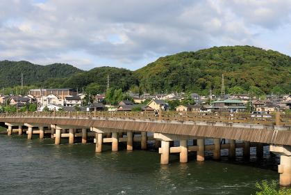 日中の宇治橋