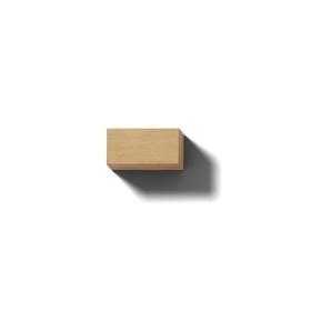 リアルな木製の文字ブロックのマイナス記号