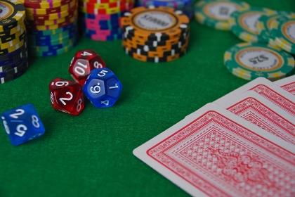 トランプのギャンブルイメージ