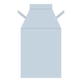 ミルク缶のイラスト