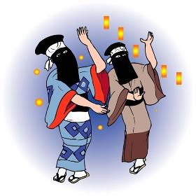 西馬内の盆踊り