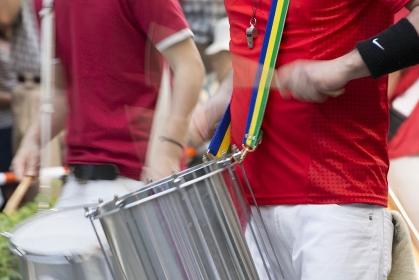 サンバの楽器隊