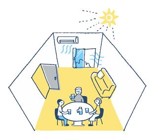 感染症予防のための室内の換気方法