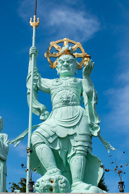 毘沙門天 銅像