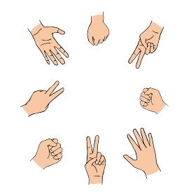 じゃんけん_Rock-paper-scissors