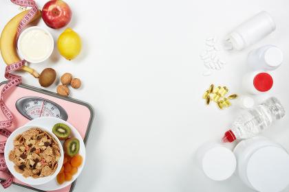 Sports nutrition. Healthy food.