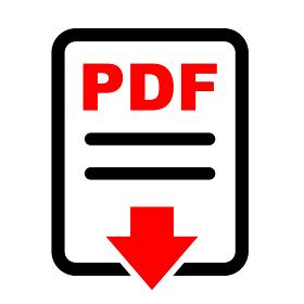 PDFアイコン素材イラスト / ベクター