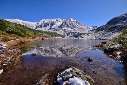 初冬の立山連峰・みどりが池