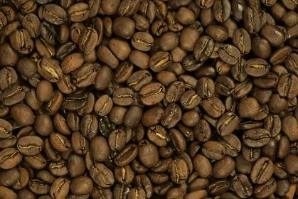 コーヒー豆のクローズアップ写真 ロースト