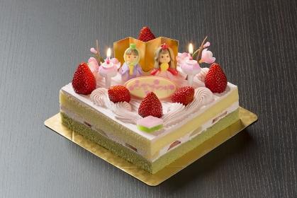 ひな祭ケーキ