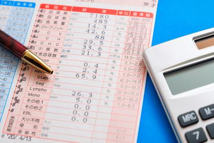 血液検査 結果表 診断結果 健康診断 赤血球数 白血球数 血小板数