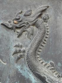 西宮戎神社の龍の彫刻