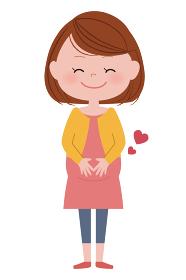 妊婦さん 笑顔