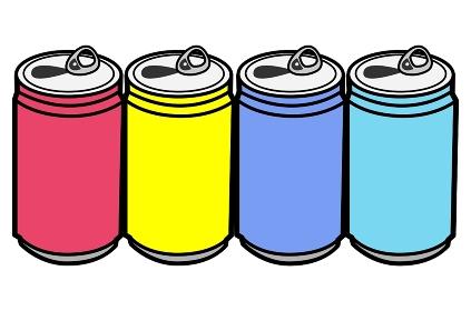 空き缶とプルタブ