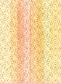 水彩タッチで描いた日本の伝統文様 江戸小紋(鮫小紋)の背景用素材 黄色系|暑中見舞い年賀状用素材