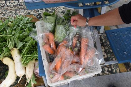 野菜無人販売所
