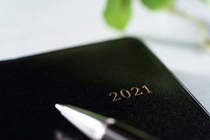ペンと手帳2021