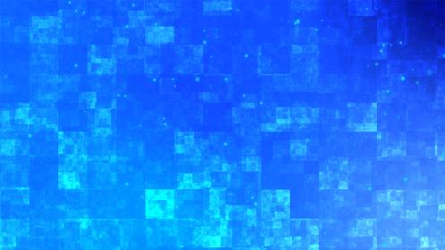 青色のアブストラクトな背景イラスト