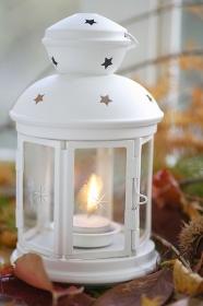 白いランプ