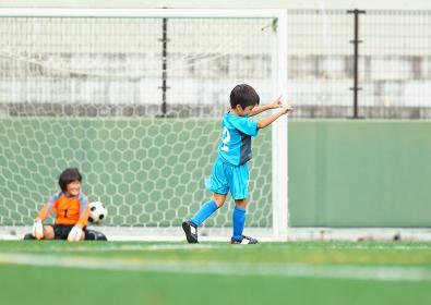 サッカー少年たち