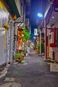小倉中心街の横丁飲み屋街【福岡県】
